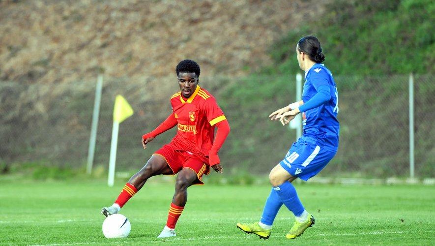 Mafuta Buni Jorge a fait bonne impression avec l'équipe réserve, en National 3.