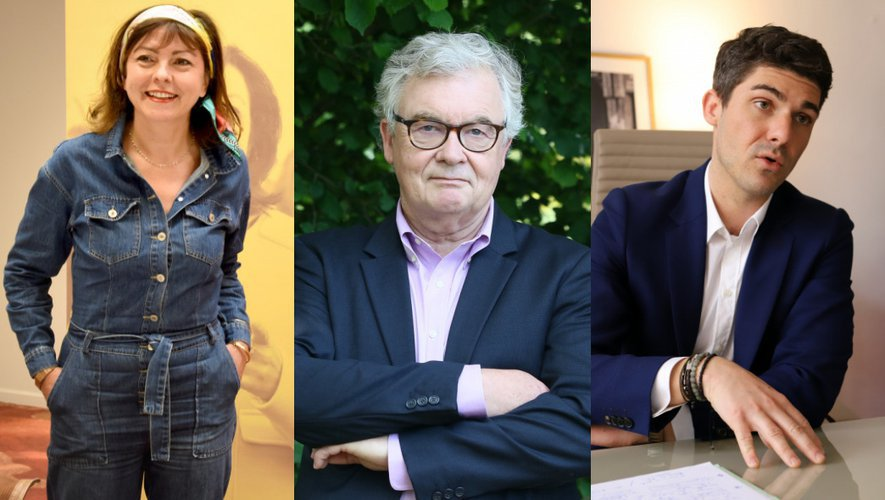Carole Delga (PS), Jean-Paul Garraud, Aurélien Pradié, les trois qualifiés pour le second tour des régionales en Occitanie.