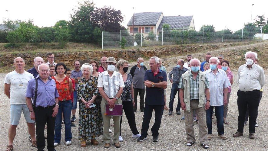 Les bénévoles mobilisés pour l'organisation des deux jours de fêtes.
