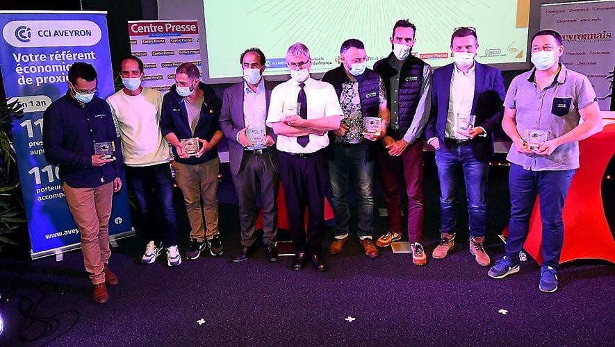 Les lauréats de cette quatrième édition.