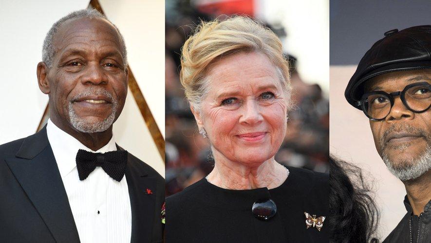 Danny Glover, Liv Ullmann et Samuel L. Jackson (de gauche à droite) vont être récompensés par l'Académie des Oscars.