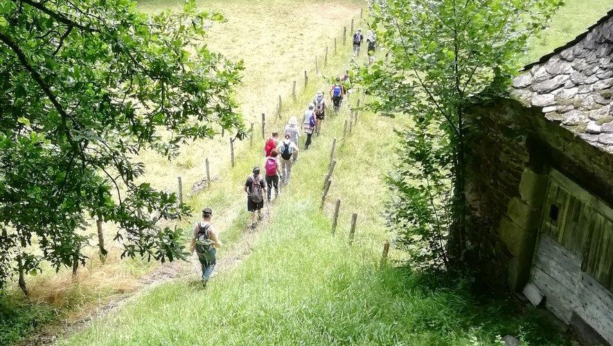 Les participants ont pris plaisir à retrouver les sentiers.