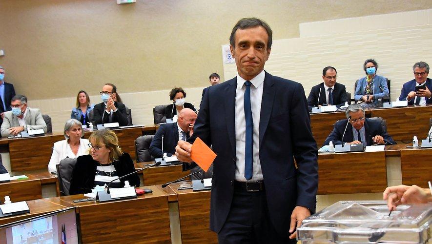 Arnaud Viala a été élu président jeudi matin un peu avant 11 h.