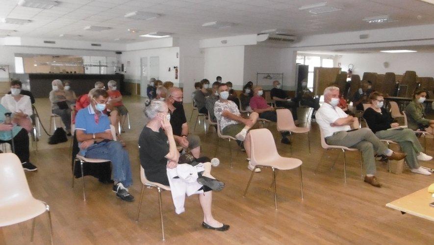 L'assemblée générale s'est déroulée à la salle d'animations d'Estaing.