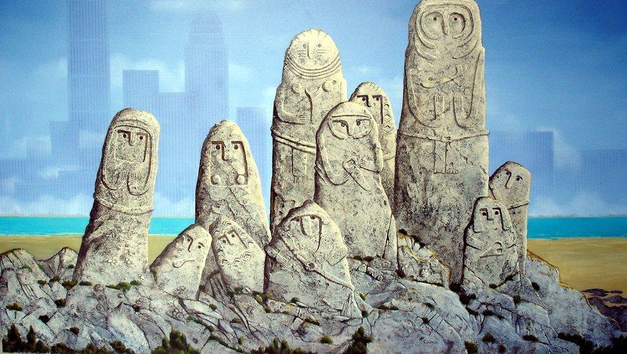 Les SMC, ou statues-menhirs contemporaines, s'exposent tout l'été.