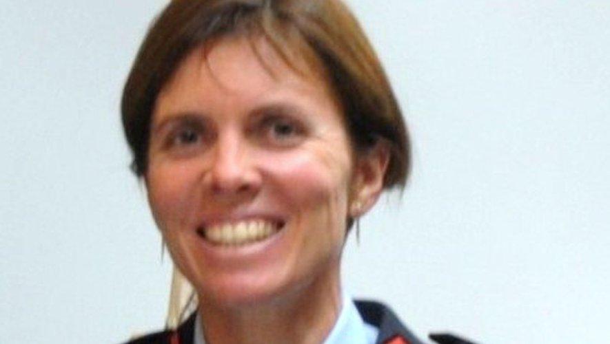Florence Marie, rignacoise d'adoption, est pompier depuis 2002.