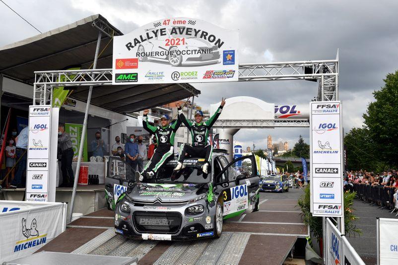 Eric Camilli a remporté la 47e édition d'un rallye du Rouergue marqué par les rebondissements.