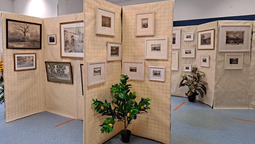 Toute l'œuvre de Viala exposée  au musée.