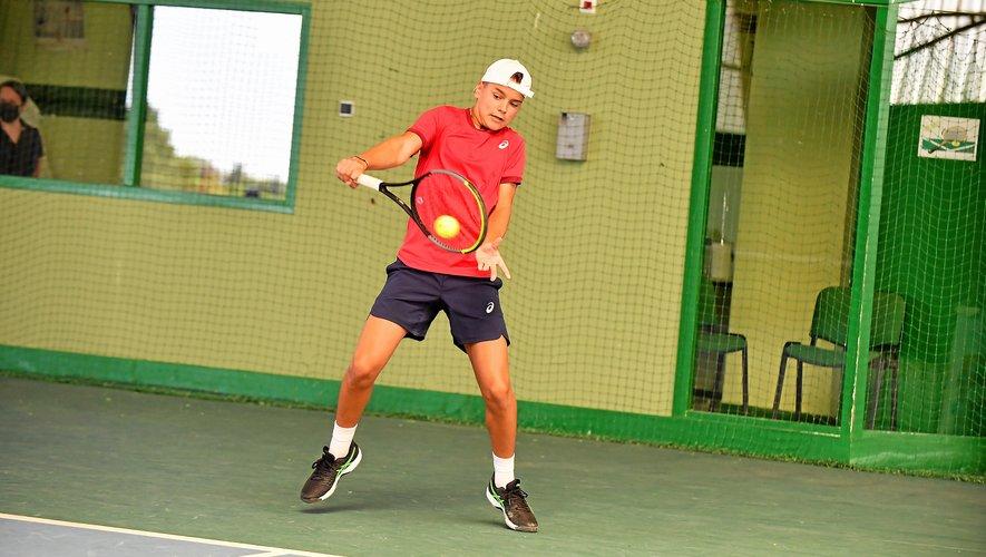 Timéo Bretin, verra les qualifications du tournoi tarbais.