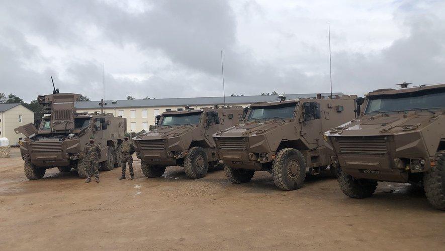 La 13e DBLE a été dotée de nouveaux véhicules de combat.