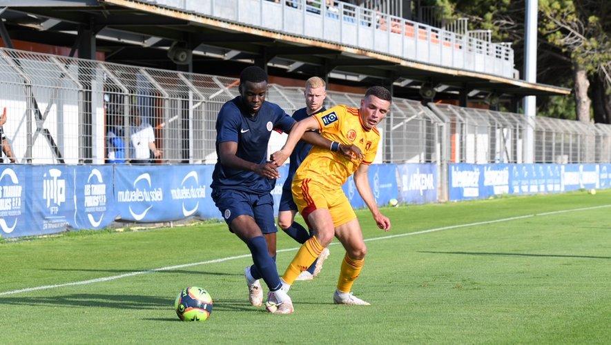Les Ruthénois d'Alan Kérouédan (à droite) ont été défaits 1-0 à Montpellier.