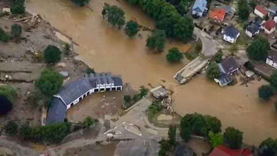 Les pires inondations depuis 20 ans en Europe.