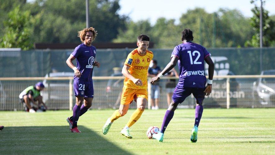 Lucas Buadès et les Ruthénois ont disputé leur quatrième et dernier match de préparation.