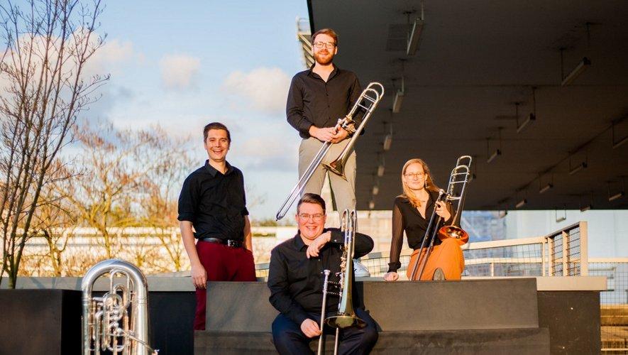 Le Belgium Low Brass Quartet ouvrira la saison vendredi 23 juillet.