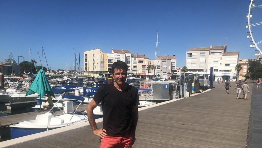"""Gilles Couchet, coresponsable de l'agence immobilière Acapulco basée au Cap, est Aveyronnais et travaille avec beaucoup de ses """"compatriotes"""". Il gère notamment une soixantaine de logements appartenant à des Aveyronnais."""