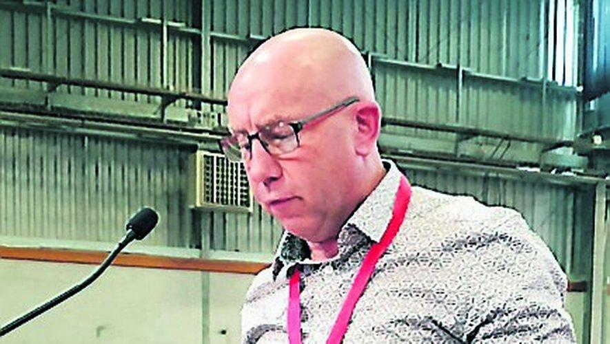 Pascal Mazet (PCF), lors de son intervention.