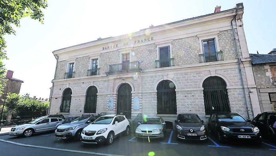 L'ancienne Banque de France, près de La Poste, devrait accueillirdes appartements et des bureaux.