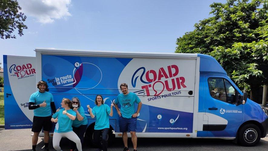 Le camion du Road Tour sports sera à Onet, demain !