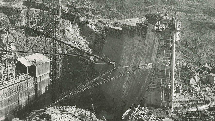 L'hydroélectricité sur le Lévézou : une aventure technique et humaine