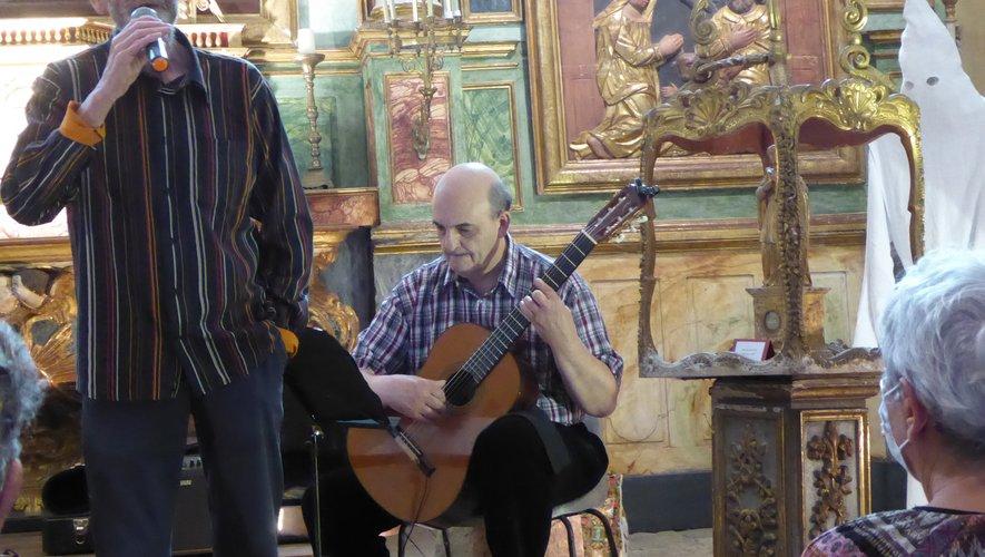 Les deux artistes ont comblé les auditeurs.