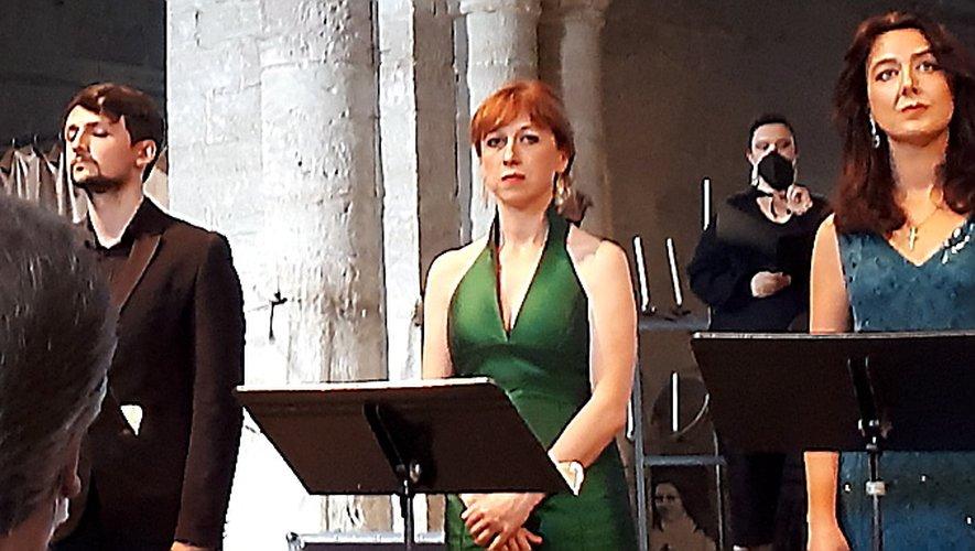 Bastien Rimondi, Gaëlle Mallada et Anne Calloni.