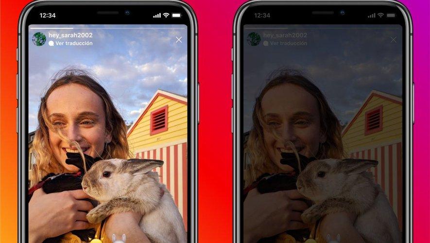 Instagram a annoncé sur son compte Twitter le lancement de son option de traduction pour son format Story.