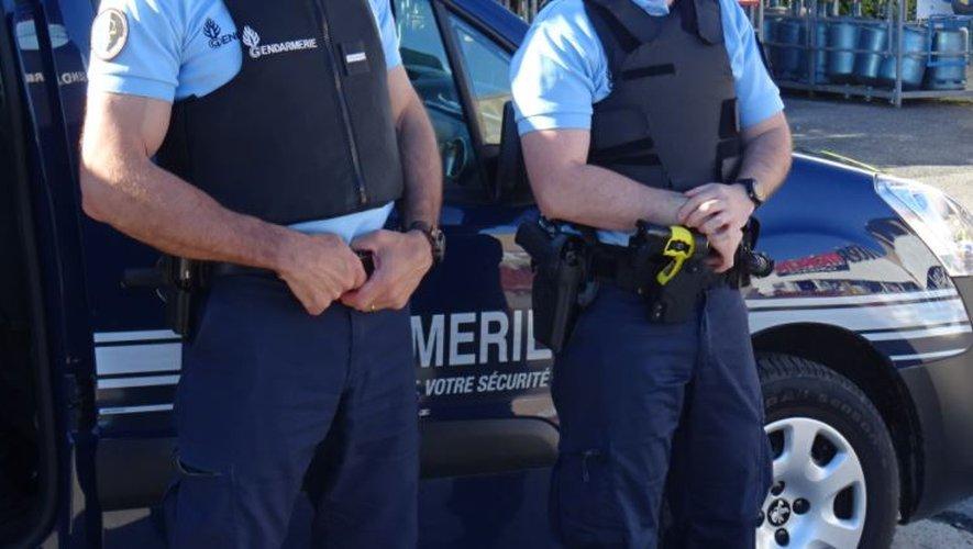 Les gendarmes les ont pris sur le fait.