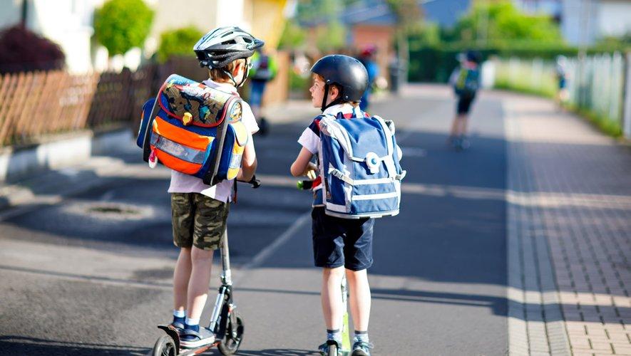 Le but des rues scolaires est de favoriser la mobilité douce pour l'accès aux écoles.