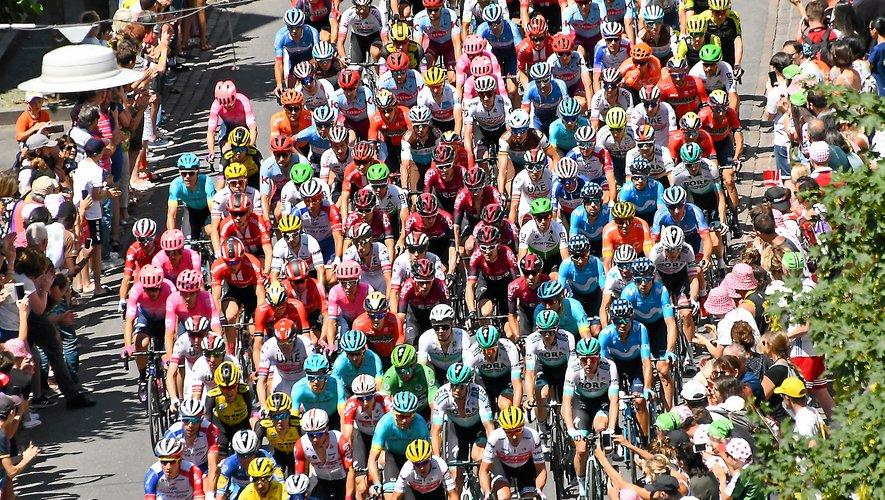 Le peloton du Tour de France devrait s'élancer de Rodez en 2022.