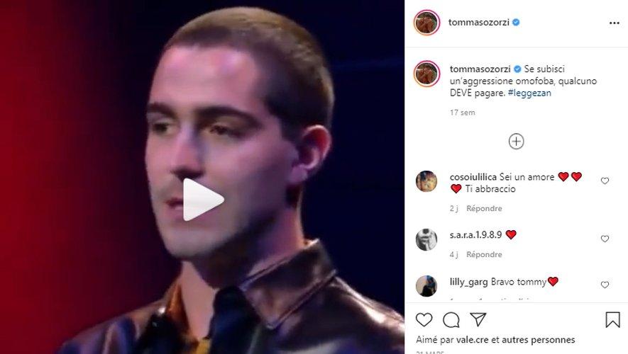 L'opinion de Tommaso Zorzi, très célèbre influenceur italien, est elle-même devenue virale suite à cette vidéo diffusée sur Instagram