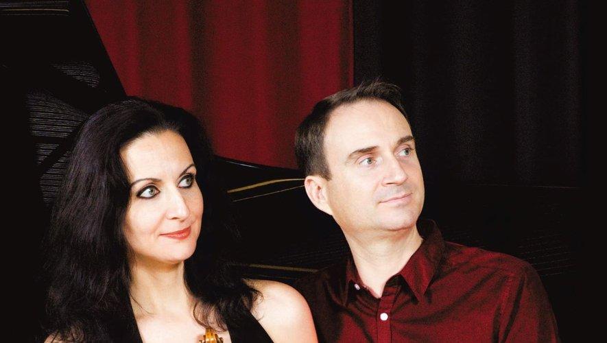 Virginie et Bruno Robilliard en concert mercredi 28 juillet.