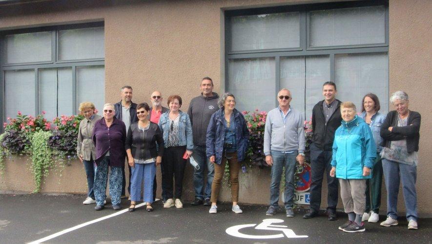Jury et bénévoles ont posé pour la photo.