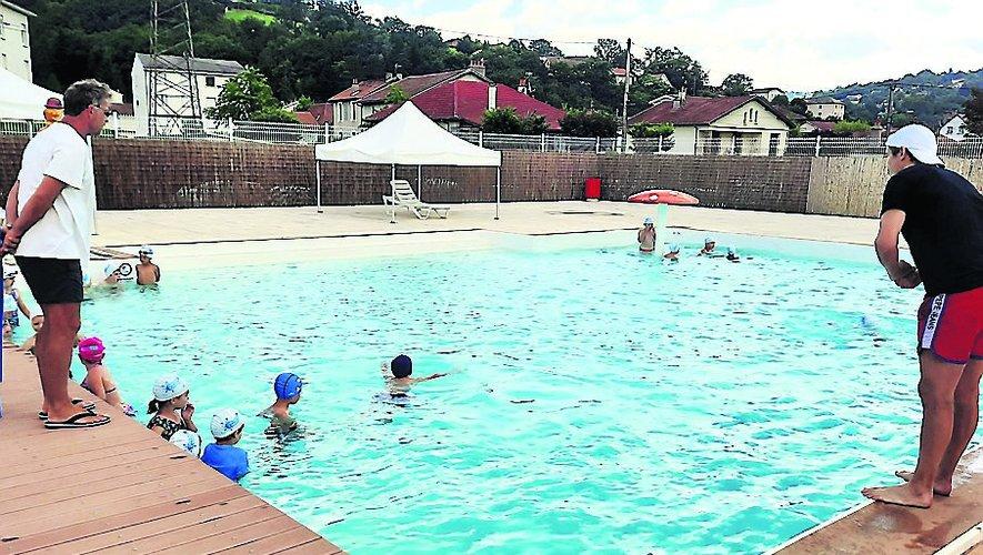 Emmanuel et Franck font progresser vos enfants  à la nage.