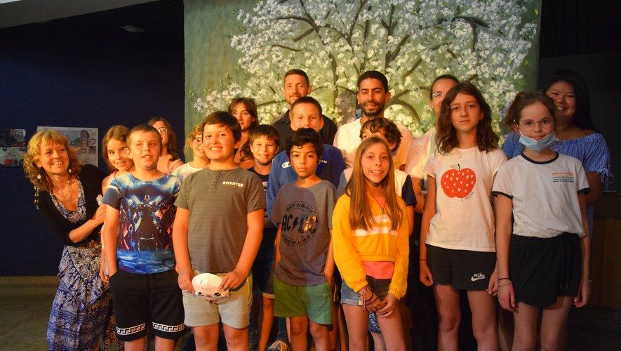 L'opération, portée par Aveyron culture, a été une réussite au vu de l'enthousiasme général.