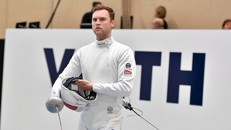 Alexandre Bardenet a été éliminé en 8es de finale.