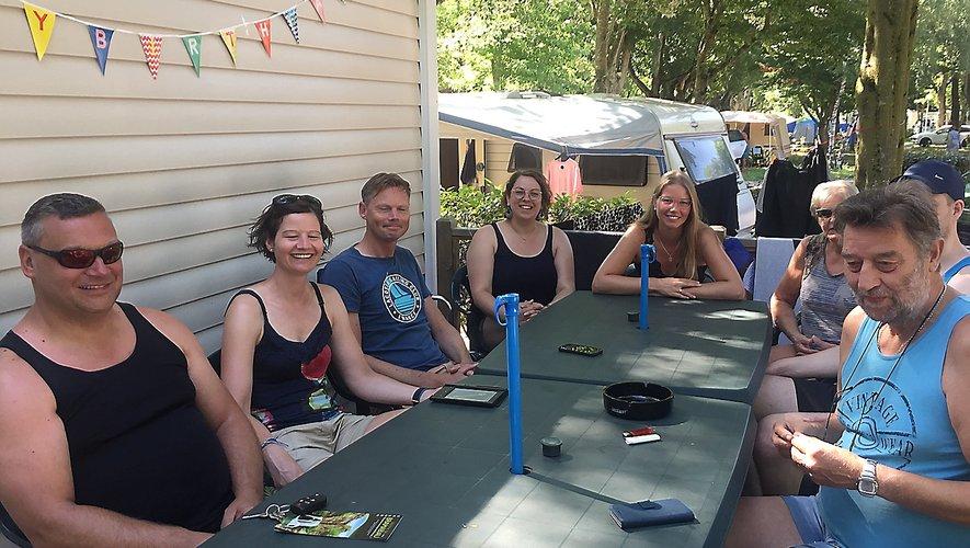 La famille Siebering a choisi Millau pour 15 jours de vacances.