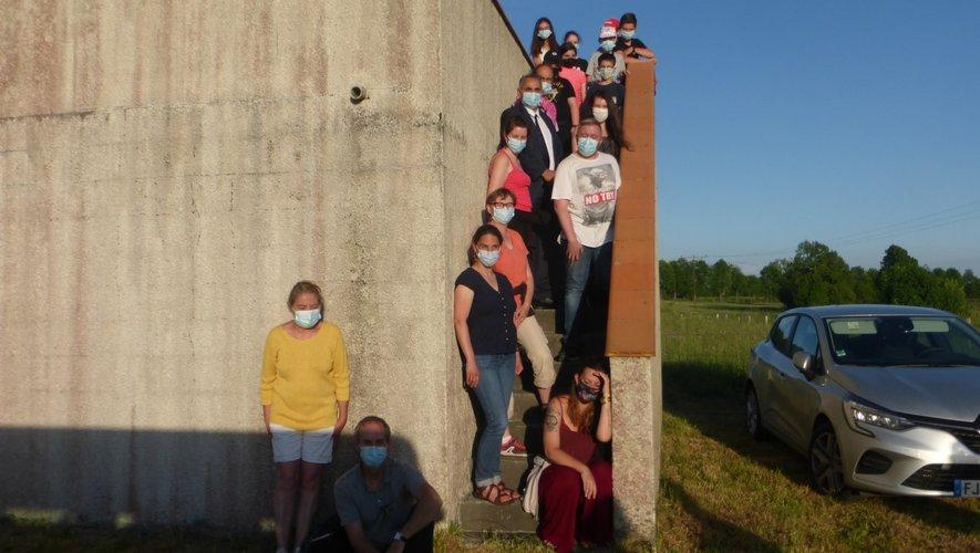 Les collégiens ont découvert l'observatoire de Frons.