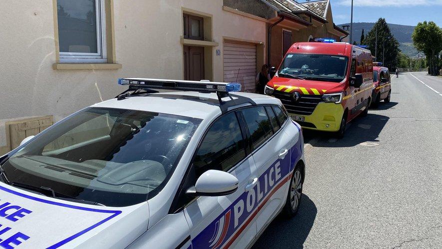 Les faits se sont déroulés  sur l'avenue Martel à Millau.