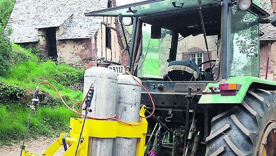 Un désherbeur sur mesure pour une agricultrice
