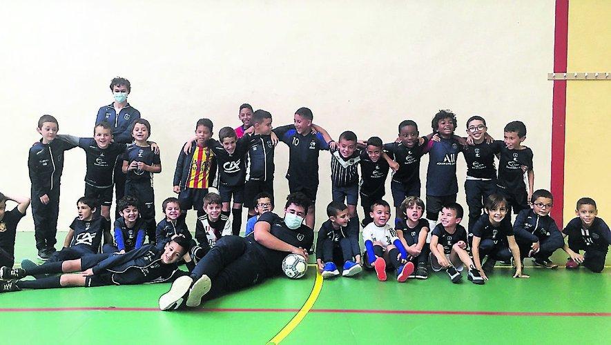 Les joueurs lors d'un précédent stage organisé par le Stade Villefranchois Football.