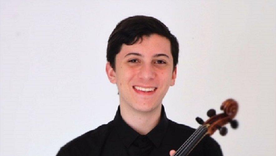 Gianfranco Garofallo joue du violon depuis l'âge de 4 ans