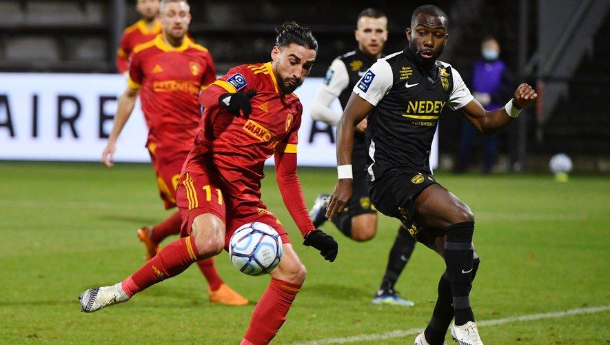 Ugo Bonnet (à gauche) intéresse Sochaux.