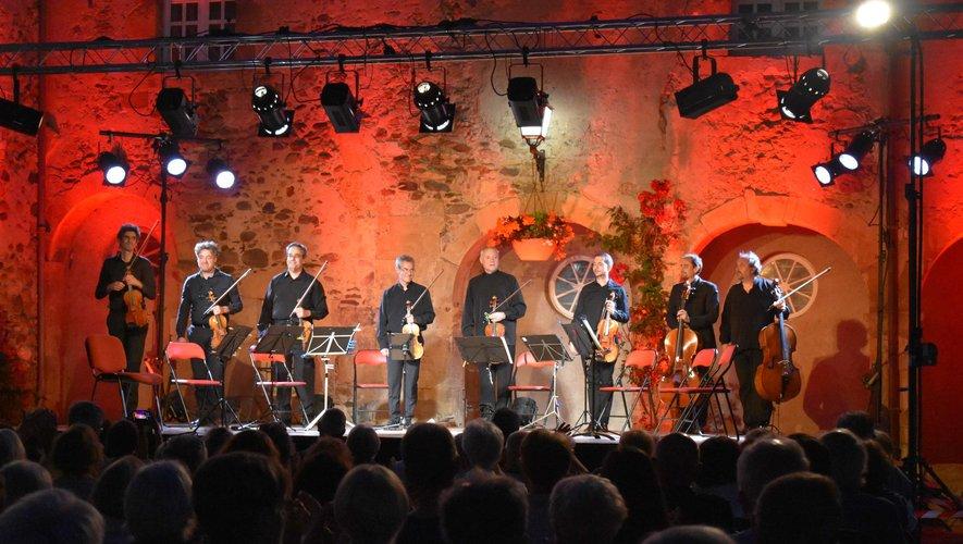 Les musiciens au concert d'ouverture du festival
