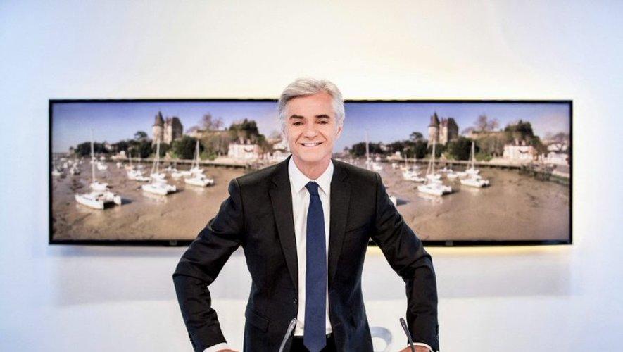 Cyril Viguier, présentateur du Grand JT des territoires.