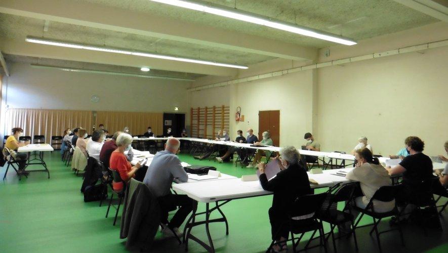 Un conseil municipal éclectique et par moments électrique.