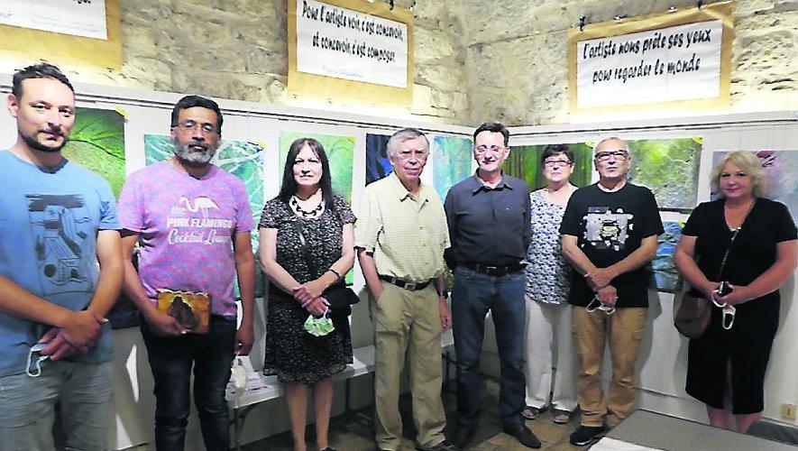 Les peintres de Paroles Vives exposent leurs réalisations jusqu'au 1er août.