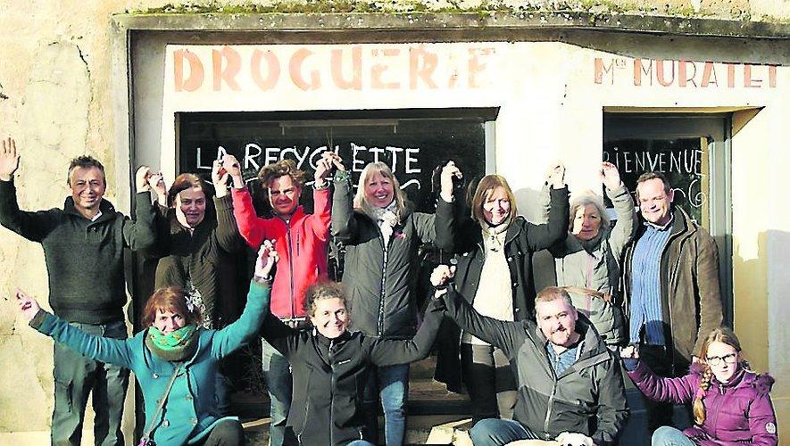 La Recyclette est née dans les murs de l'ancienne droguerie Muratet à Foissac en 2020.
