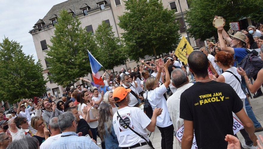 Ils étaient environ 800 à Rodez samedi dernier.