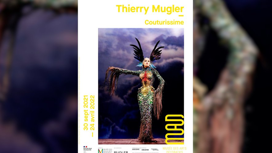 Thierry Mugler, couturissime : l'exposition de la rentrée à ne pas manquer !