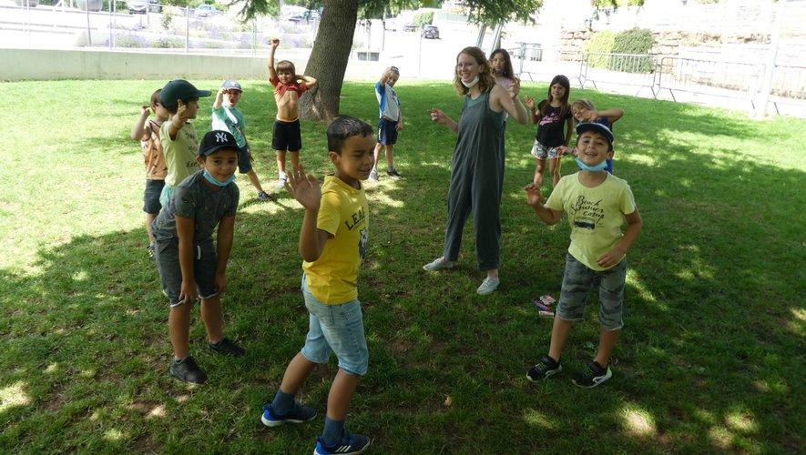 Les enfants profitent des belles journées ensoleillées pour s'éclater !
